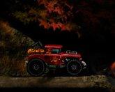 Хэллоуин трактор