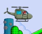 Марио в вертолете