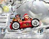 Санта гонщик - онлайн игра