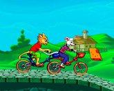 Том и Джерри гонки