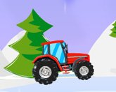 Рождественский трактор