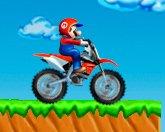 Марио мотокросс