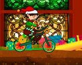 Байк рождественского эльфа