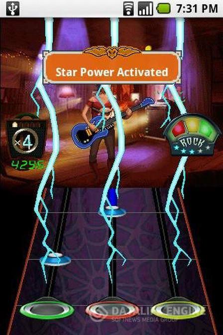 скачать игру guitar hero world tour андроид