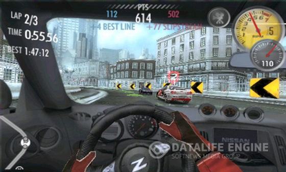 Screenshots for Need for Speed Shift.