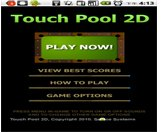 Touch Pool 2D