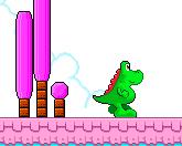 Динозавр сладкоежка