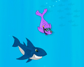 Тюлени против акул