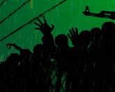 Оружие, дождь и зомби