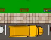 Парковка грузовика - онлайн игра
