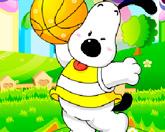 Пес баскетболист