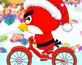 Птичка велосепедистка