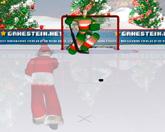 Санта хоккей