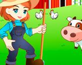 Девочка фермер