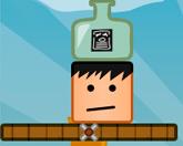 Бутылка на голове
