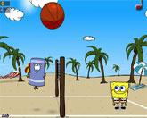 волейбол с Губкой Бобом