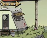 зомби в трейлер парке