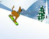 Скуби Ду сноуборд