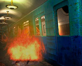 Рискованый побег из метро