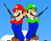 битва Супер Марио