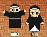 ниндзя или монашка