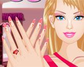 дизайн ногтей Барби