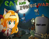 кошка против зомби