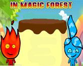 Огонь и Вода в лесу