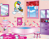 Хэллоу Китти ванная комната