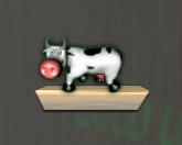 Корова в шахте