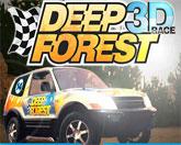 густой лес 3D гонка