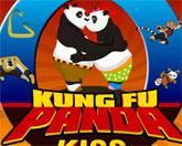 поцелуи Кунг-фу Панды