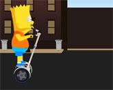 Барт Симпсон на сигвэе