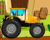 Гонщик на тракторе