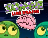 Зомби любят мозги