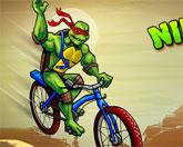 черепашки ниндзя: гонка bmx