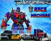Трансформеры: гонка машин
