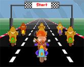 гонка мотоциклистов