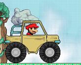 Марио на грузовике