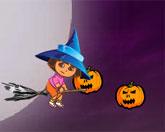 Дора хэллоуин стрелялка