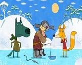 Машины сказки 14 серия — Волк и лиса смотреть онлайн