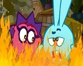 Смешарики: Азбука безопасности 11 серия — Игры с огнем смотреть онлайн
