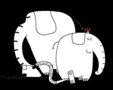Слон и пылесос