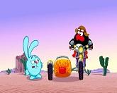 Смешарики: Азбука безопасности 24 серия — Мотоциклетные правила смотреть онлайн