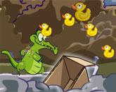 крокодил паркур