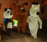 Веселые мишки 1 сезон 2 серия - Турист