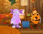 Лунтик и его друзья 3 сезон 159 серия смотреть онлайн - Игра в кольца