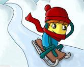 снежные приключения