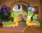 Лунтик и его друзья 4 сезон 221 серия смотреть онлайн - Послушные гусеницы