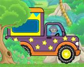 Даша на грузовике